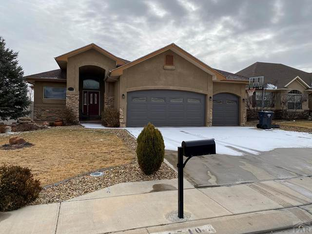 1710 Aquila Dr, Pueblo, CO 81008 (MLS #184414) :: The All Star Team of Keller Williams Freedom Realty