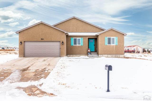 90 S Siesta Dr, Pueblo West, CO 81007 (MLS #184461) :: The All Star Team of Keller Williams Freedom Realty