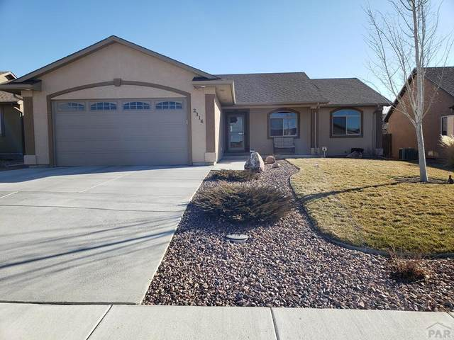 2316 Inspiration Ln, Pueblo, CO 81008 (MLS #184697) :: The All Star Team of Keller Williams Freedom Realty