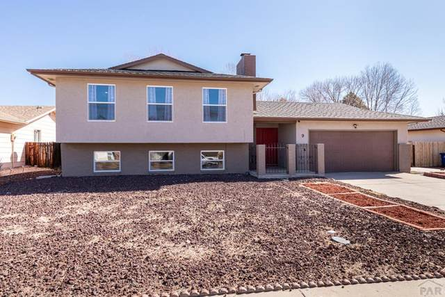 9 Fireweed Court, Pueblo, CO 81001 (MLS #184899) :: The All Star Team of Keller Williams Freedom Realty