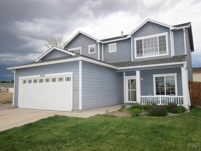 3805 Ringtail Ln, Pueblo, CO 81005 (MLS #186279) :: The All Star Team of Keller Williams Freedom Realty