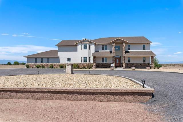 738 W Mcculloch Pl, Pueblo West, CO 81007 (MLS #186321) :: The All Star Team of Keller Williams Freedom Realty