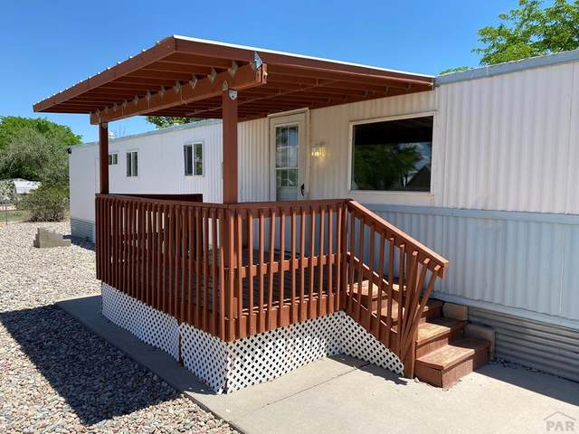 63 E Dante Pl, Pueblo West, CO 81007 (MLS #186413) :: The All Star Team of Keller Williams Freedom Realty