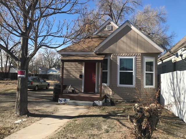1623 Pine St, Pueblo, CO 81004 (MLS #186425) :: The All Star Team of Keller Williams Freedom Realty