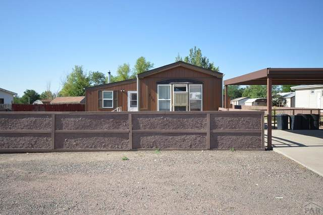 318 E Don Dr, Pueblo West, CO 81007 (MLS #187559) :: The All Star Team