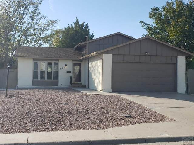 4204 Blueflax Dr, Pueblo, CO 81001 (MLS #190168) :: The All Star Team