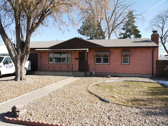 2132 Hollywood Dr, Pueblo, CO 81005 (MLS #190773) :: The All Star Team