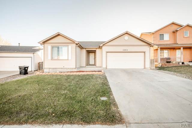 5093 Buchanan Dr, Pueblo, CO 81008 (MLS #190914) :: The All Star Team