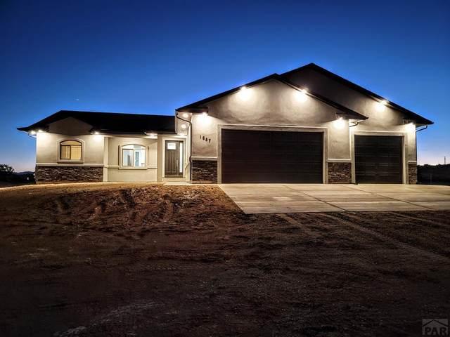 1687 N Bowen Dr, Pueblo West, CO 81007 (#197155) :: The Artisan Group at Keller Williams Premier Realty