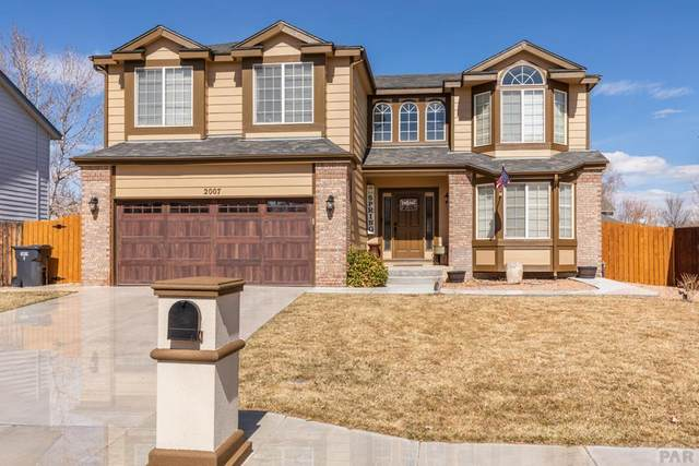 2007 Settlers Dr, Pueblo, CO 81008 (MLS #184942) :: The All Star Team of Keller Williams Freedom Realty