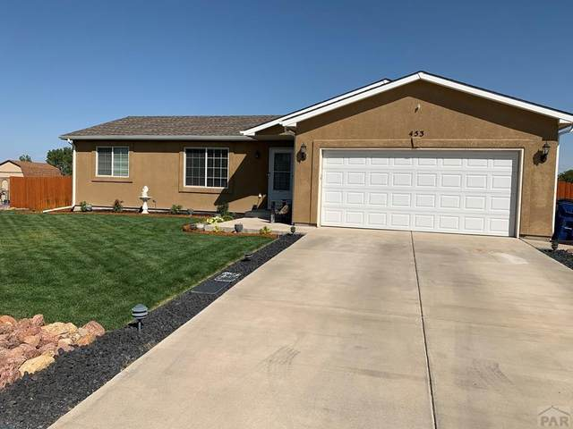 453 E Maher Dr, Pueblo West, CO 81007 (MLS #188737) :: The All Star Team
