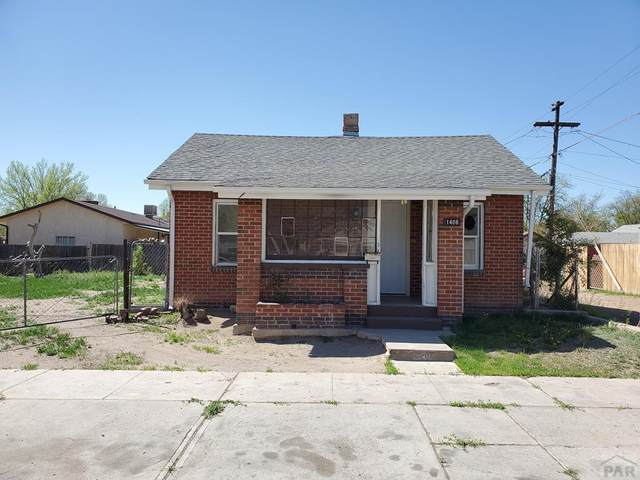 1408 Sprague Ave, Pueblo, CO 81004 (MLS #185770) :: The All Star Team of Keller Williams Freedom Realty