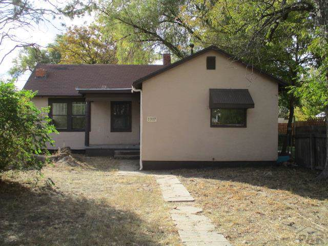 1317 Carteret Ave, Pueblo, CO 81004 (MLS #183289) :: The All Star Team of Keller Williams Freedom Realty