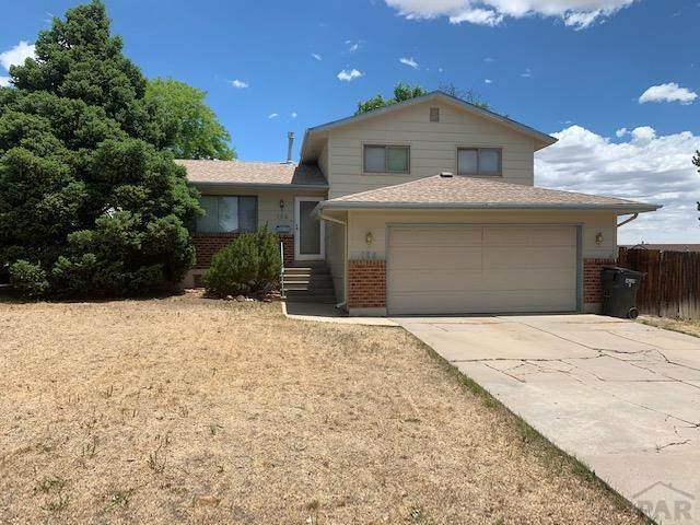 166 Glenn Place, Pueblo, CO 81001 (MLS #186227) :: The All Star Team of Keller Williams Freedom Realty