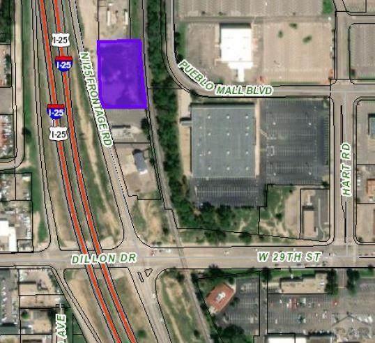 0 N Freeway #0, Pueblo, CO 81008 (MLS #188762) :: The All Star Team