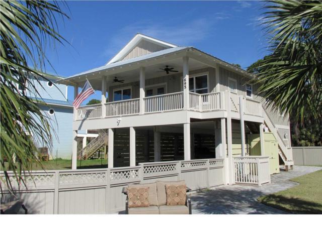 695 Gulf Pines Dr, CAPE SAN BLAS, FL 32456 (MLS #261325) :: Berkshire Hathaway HomeServices Beach Properties of Florida