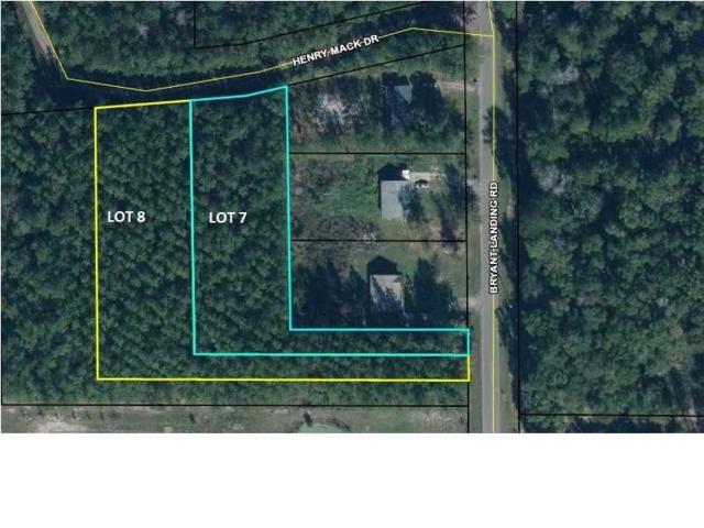 0 Bryant Landing Rd Lot 7 & 8, WEWAHITCHKA, FL 32465 (MLS #262162) :: Coast Properties