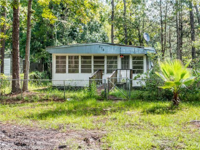674 Bryant Landing Rd, WEWAHITCHKA, FL 32465 (MLS #263094) :: Berkshire Hathaway HomeServices Beach Properties of Florida
