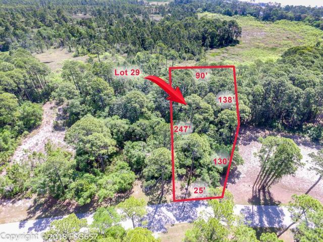 29 Waters Edge Dr Lot 29, PORT ST. JOE, FL 32456 (MLS #300986) :: Berkshire Hathaway HomeServices Beach Properties of Florida