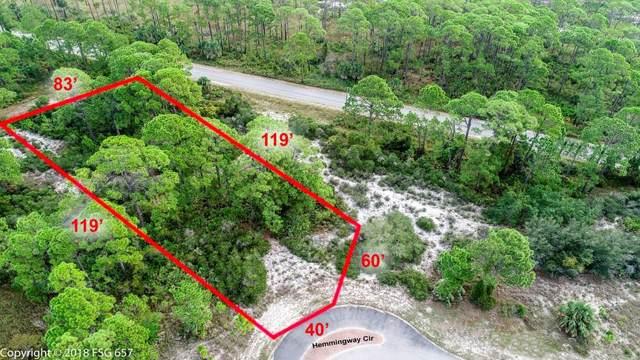 15 Hemmingway Cr Lot 15, CAPE SAN BLAS, FL 32456 (MLS #302443) :: Berkshire Hathaway HomeServices Beach Properties of Florida