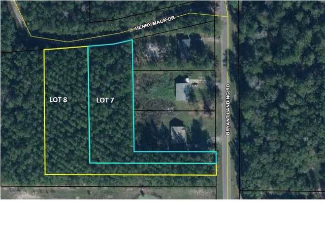 0 Bryant Landing Rd Lot 7 & 8, WEWAHITCHKA, FL 32465 (MLS #303244) :: Berkshire Hathaway HomeServices Beach Properties of Florida