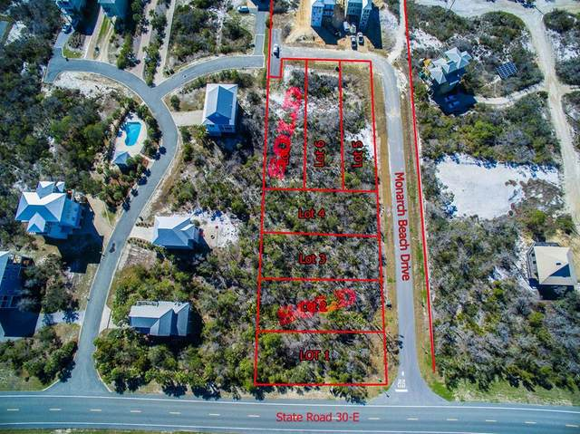 Lot 6 Monarch Beach Dr Lot 6, CAPE SAN BLAS, FL 32456 (MLS #304042) :: The Naumann Group Real Estate, Coastal Office