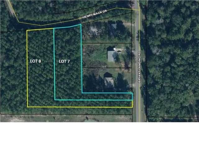 0 Bryant Landing Rd Lot 7 & 8, WEWAHITCHKA, FL 32465 (MLS #304800) :: The Naumann Group Real Estate, Coastal Office