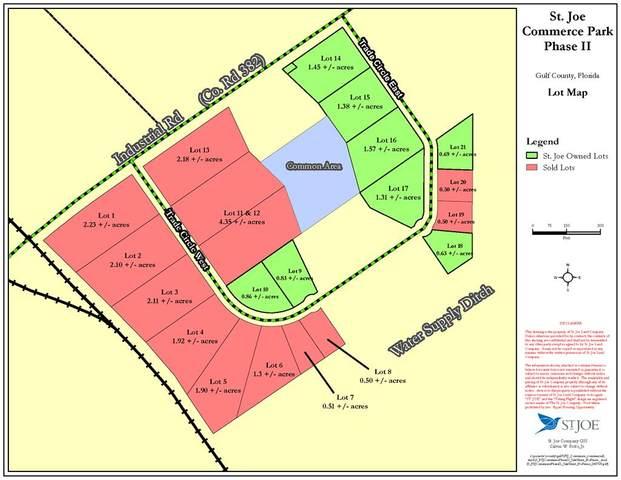 Lot 21 Trade Circle East, PORT ST. JOE, FL 32456 (MLS #305333) :: Anchor Realty Florida