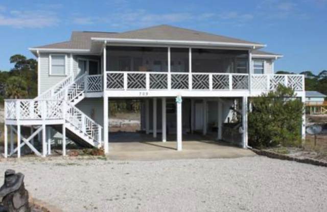 709 E Gulf Beach Dr, ST. GEORGE ISLAND, FL 32328 (MLS #305422) :: Berkshire Hathaway HomeServices Beach Properties of Florida