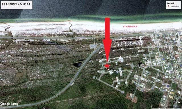 61 Sting Ray Ln Lot 61, PORT ST. JOE, FL 32456 (MLS #302803) :: Coastal Realty Group