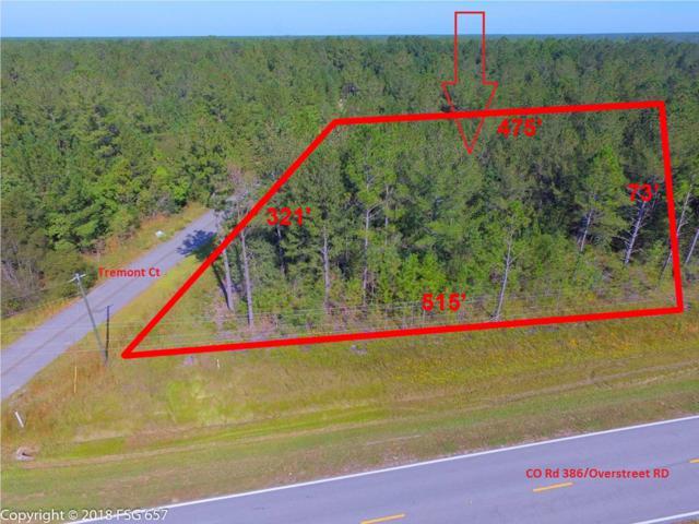 3 Tremont Ct Lot 3, OVERSTREET, FL 32465 (MLS #257745) :: Coast Properties