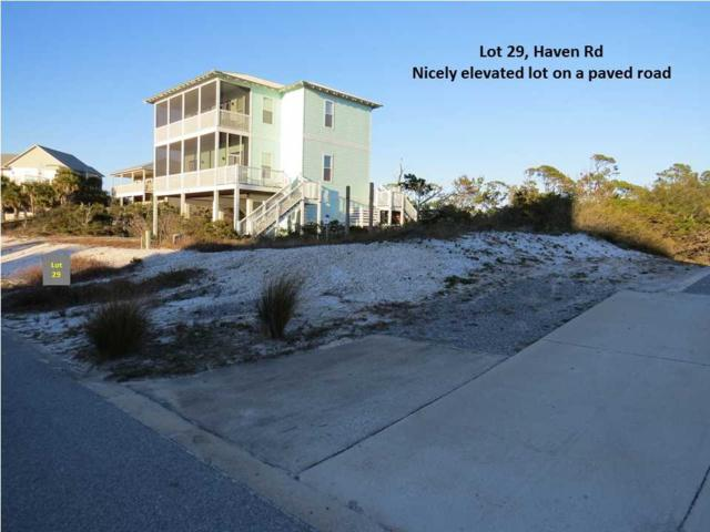 29 Haven Rd, PORT ST. JOE, FL 32456 (MLS #258770) :: Coast Properties