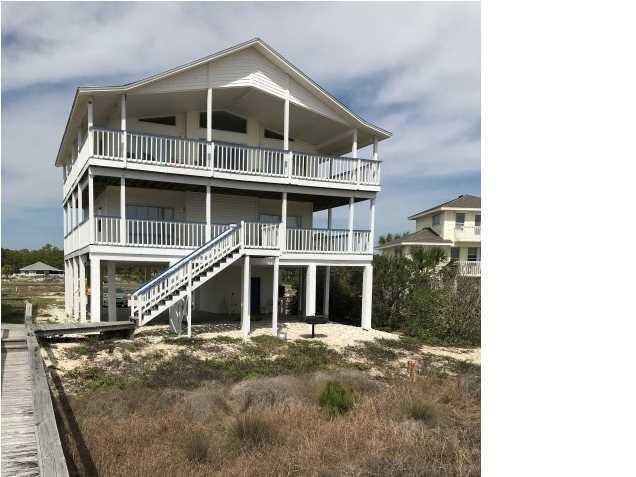 1216 East Gulf Beach Dr, ST. GEORGE ISLAND, FL 32328 (MLS #261488) :: Berkshire Hathaway HomeServices Beach Properties of Florida
