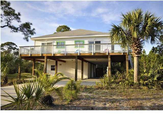 209 Gulf Pines Dr, CAPE SAN BLAS, FL 32456 (MLS #262760) :: Berkshire Hathaway HomeServices Beach Properties of Florida