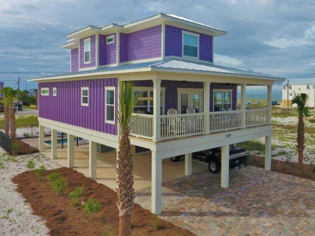 105 34TH ST, MEXICO BEACH, FL 32456 (MLS #307776) :: Berkshire Hathaway HomeServices Beach Properties of Florida