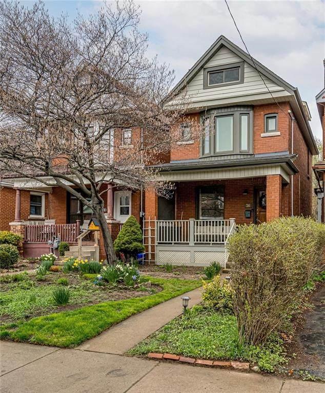 36 Cedar Avenue, Hamilton, ON L8M 3A5 (MLS #H4103616) :: Lucido Global   Diane Price Team