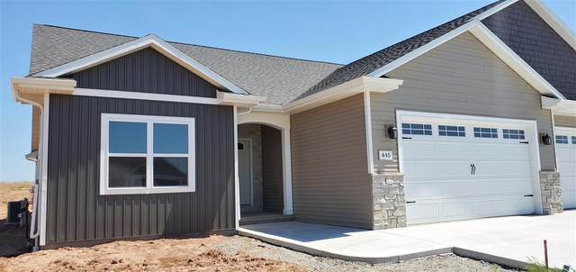 445 Longwood Lane, Wrightstown, WI 54180 (#50216254) :: Todd Wiese Homeselling System, Inc.