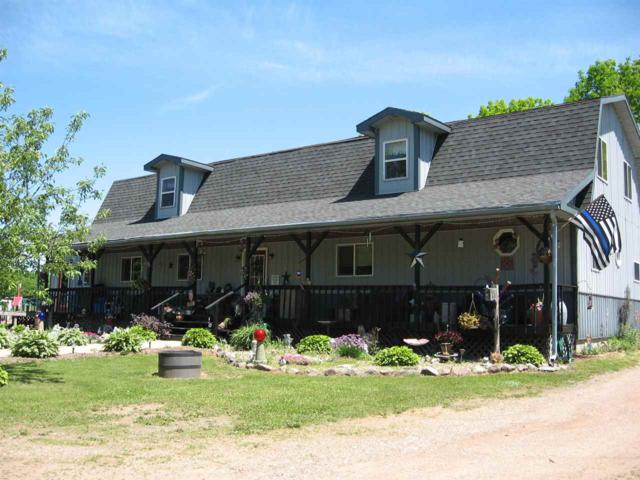 N4818 Stony Hill Road, Marion, WI 54950 (#50165210) :: Dallaire Realty