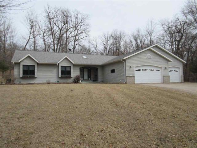 N4806 26TH Road, Wild Rose, WI 54984 (#50179931) :: Dallaire Realty