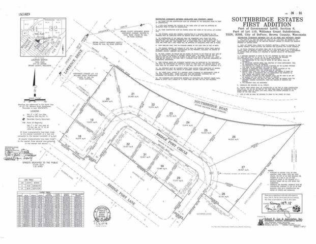Bridge Port Circle, De Pere, WI 54115 (#50181356) :: Todd Wiese Homeselling System, Inc.