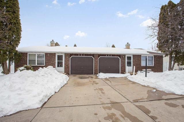 860 Edgewood Drive, Green Bay, WI 54311 (#50181495) :: Dallaire Realty