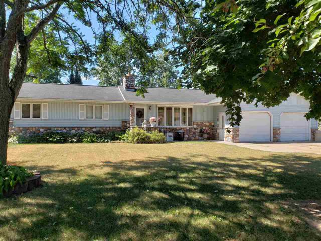 303 Riverview Drive, Marion, WI 54950 (#50187772) :: Todd Wiese Homeselling System, Inc.