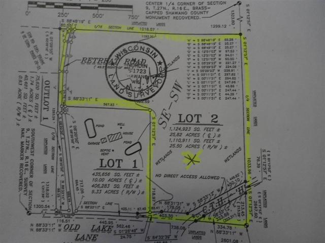 Old Lake Lane, Shawano, WI 54166 (#50190775) :: Dallaire Realty