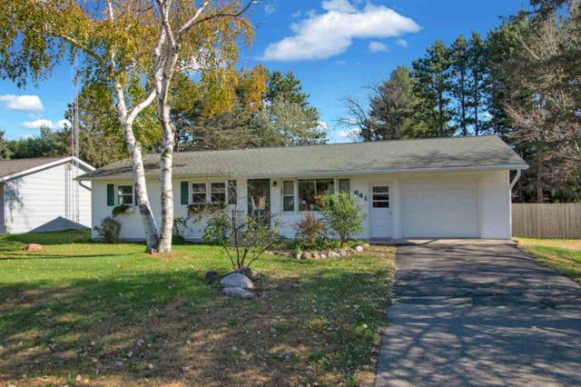 641 S Evergreen Street, Wautoma, WI 54982 (#50193417) :: Dallaire Realty