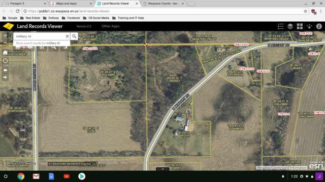 3627 N Military Road, Weyauwega, WI 54983 (#50195119) :: Dallaire Realty