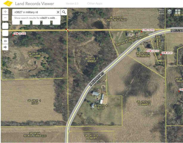 N3627 N Military Road, Weyauwega, WI 54983 (#50196727) :: Symes Realty, LLC