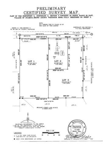 1903 W Brown Road, Suamico, WI 54173 (#50200786) :: Dallaire Realty