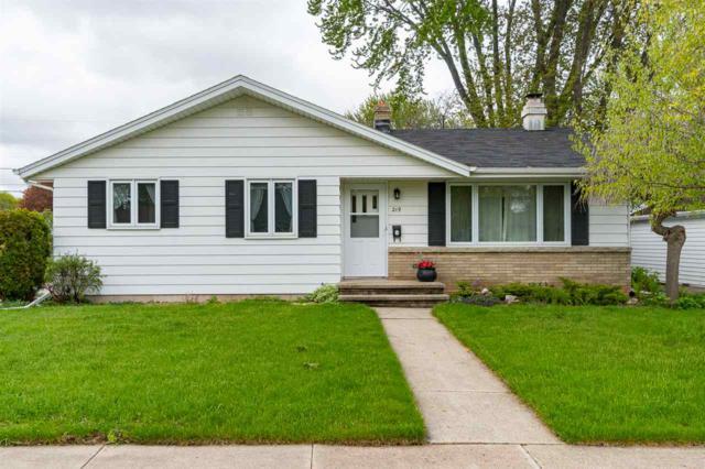 219 S Christine Street, Appleton, WI 54915 (#50203406) :: Todd Wiese Homeselling System, Inc.
