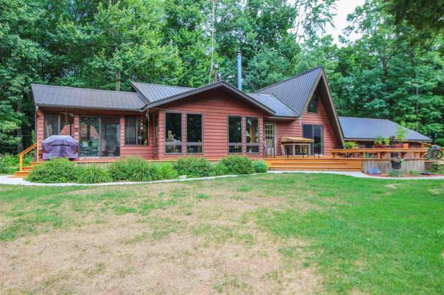 N8603 Carper Road, Iola, WI 54945 (#50206048) :: Todd Wiese Homeselling System, Inc.