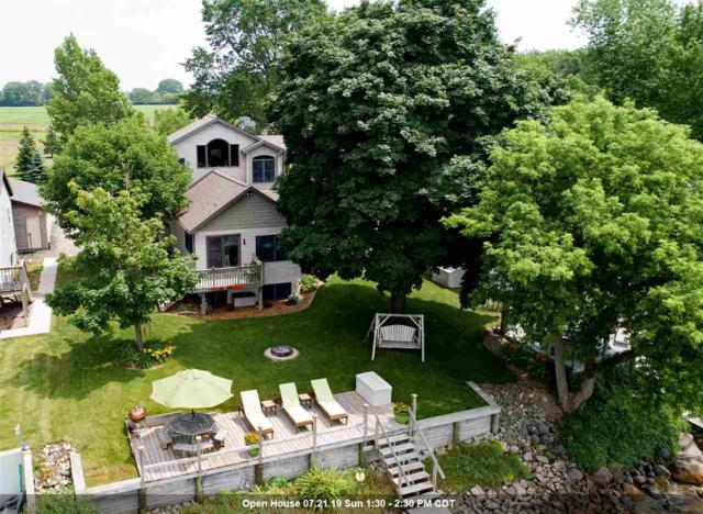 647 Long Beach Drive, Chilton, WI 53014 (#50207165) :: Todd Wiese Homeselling System, Inc.